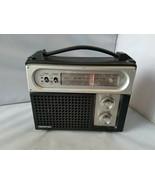 Soundesign Vintage Portable Radio AM / FM Model 2256 AC 110-120 Volts 60Hz - $66.95