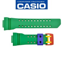 Genuine CASIO G-SHOCK Watch Band Strap GA-400-2A Original Green Rubber - $28.95