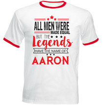 AARON - NEW RED RINGER COTTON TSHIRT - $23.70