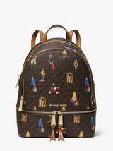 NWT MIchael Kors Rhea Medium Jet Set Girls Backpack - $266.26