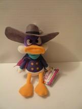 "Darwing Duck Plush Stuffed 10"" Disneys Plushies Mint with Tags - $24.75"
