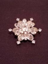 Weiss Snowflake Pin - $48.51