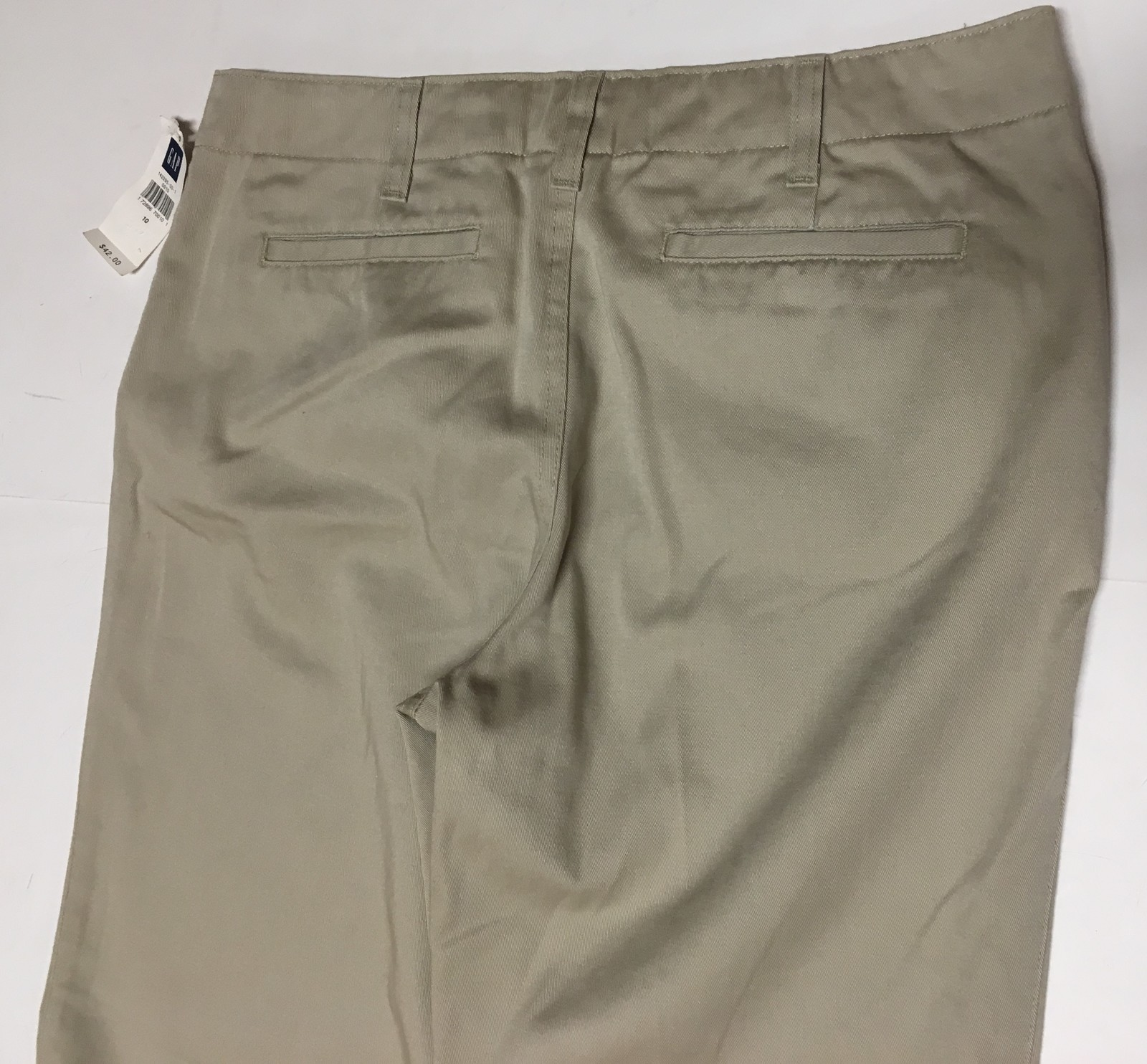 GAP Hipster Trousers Pants Beige Sz 10 image 4
