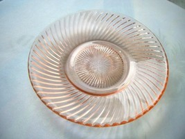 "Federal Glass Demitasse ""Diana"" Pattern Saucer Depression 1937-1941 - $4.95"