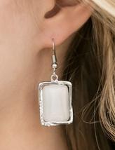 I Dew What I Want White Earring - $5.00