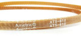 LOT OF 2 NEW AMETRIC AT5-610 BELTS AT5610 image 3