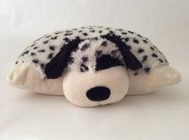 "PILLOW PETS white black DALMATION PUPPY DOG 18"" large plush - $37.39"