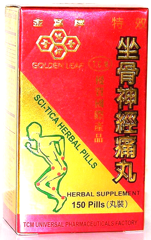 Sci-tica Herbal by Golden Leaf Brand,150 Pills