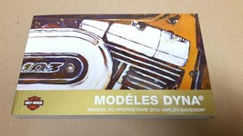 2016 Harley Davidson Dyna Models FRENCH Owner's Manual 99467-16FRB - $30.67