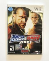 WWE SmackDown vs. Raw 2009 Featuring ECW (Nintendo Wii, 2008) - $8.99