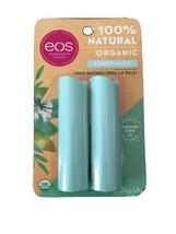 eos Organic Lip Balm Sticks - Sweet Mint - 0.28oz/2pk - $6.75