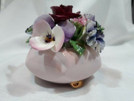 ** Radnor Bone China Porcelain Staffordshire England Flower  - $33.30