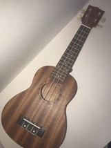 Soprano Ukulele 21-inch 4-string Beginner Wood Guitar New No Case - $26.96