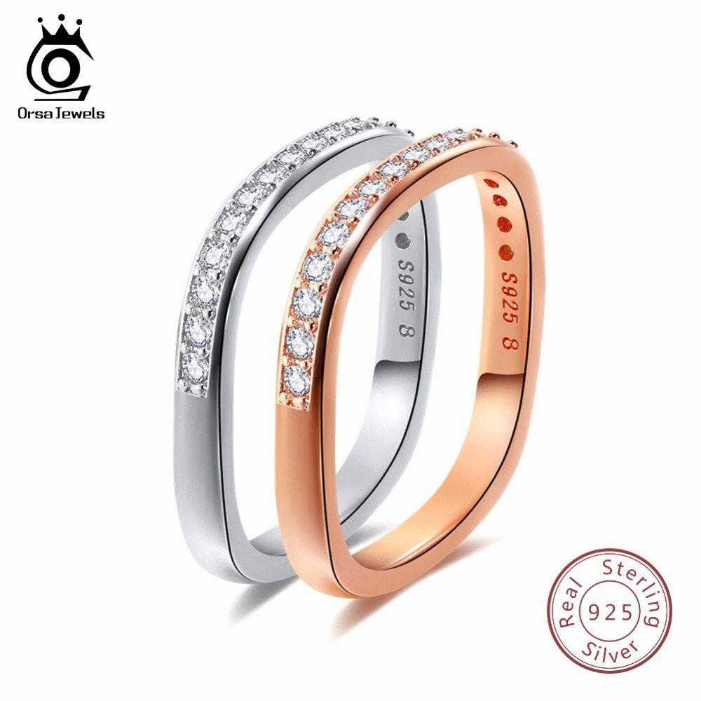 OrsaJewels® AAA Brilliant Austrian CZ Infinity Pendant Silver Color Necklace