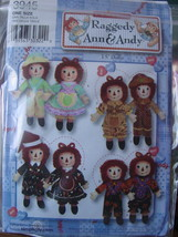 "Raggedy Ann & Andy Doll Pattern with Clothing Patterns 15"" - $5.00"