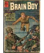 Brain Boy #6 1962-Dell-Russian atomic bomb explosion panel-commies-P - $15.13