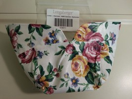 Longaberger 1999 Horizon Of Hope Basket Garden Splendor Fabric Liner LAST ONE - $12.82
