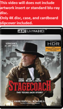 Stagecoach: The Texas Jack Story  (4K Ultra HD)