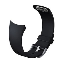 V-MORO Accessories Silicone Bands for Samsung Galaxy Gear S2 Smart (Black) - $17.64