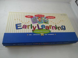Early Learning 78 FLASHCARD PUZZLES Set ~ABC, OPPOSITES & NUMBERS by Spi... - $15.99