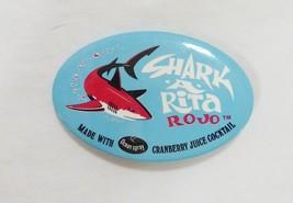Shark A Rita cocktail pin back button collectible - $7.92