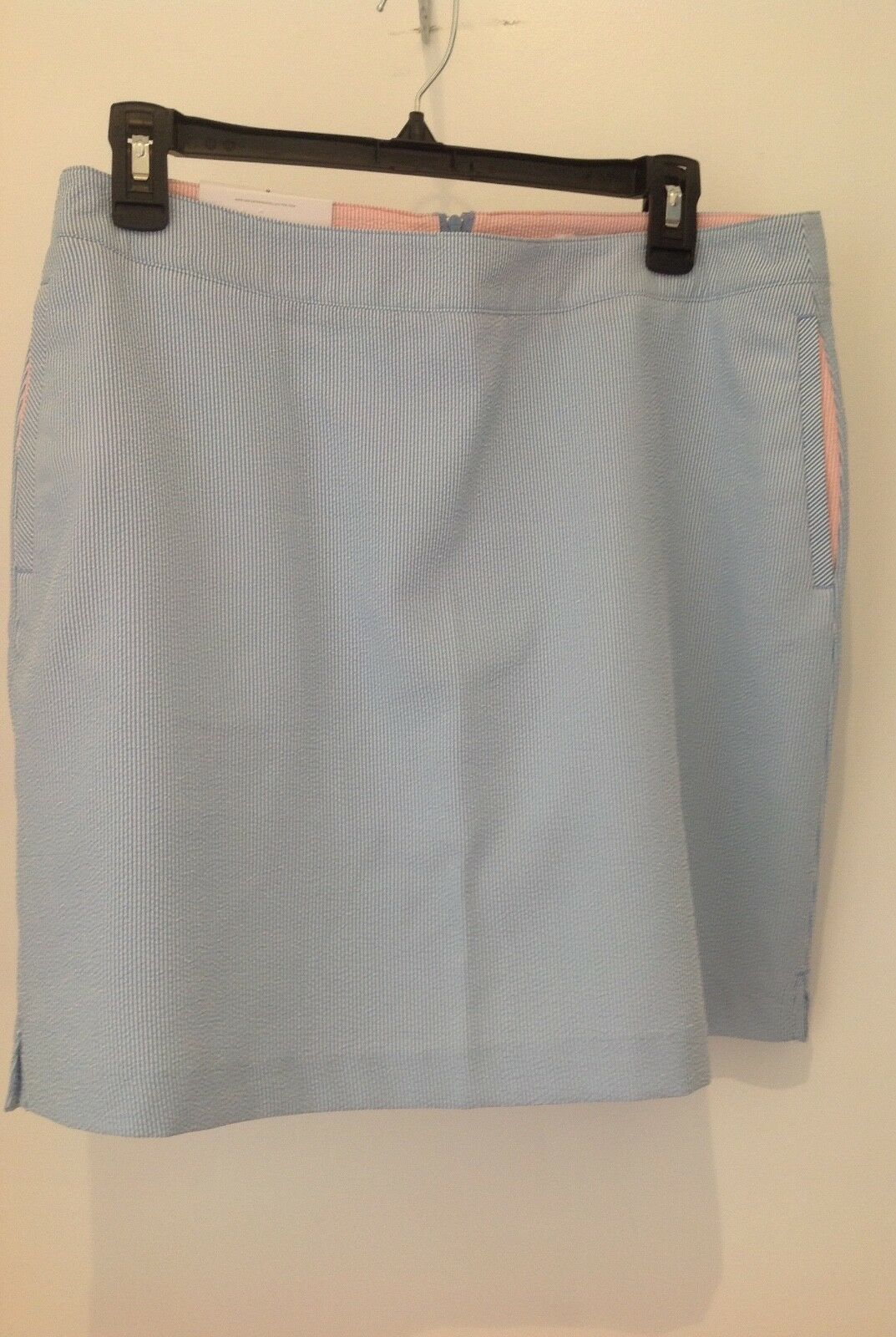 Primary image for Greg Norman Perfomance by Design Blue  Tennis Golf Club Skirt Skorts Size 8 NWT