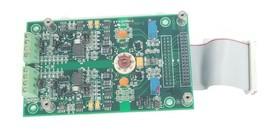 DANAHER CONTROLS 04628402 CONTROL BOARD REV. C W/ RIBBON CABLE 2651