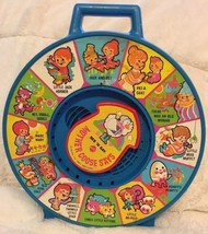 Vintage 1983 See N Say Mother Goose Nursery Rhymes Pull String Mattel To... - $16.82