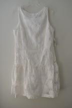 Jessica Simpson Floral Embroidered Drop Waist Dress Sz 12 NWT - $39.60