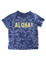 First Impressions Baby Boys ''ALOHA!'' Blue T-Shirt - $7.00