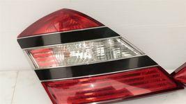07-09 Mercedes 221 S550 S600 Tailight Tail Light Lamps Set L&R image 3