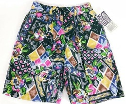 Andrews Sports Studio Women's Shorts Small Casual Abstract Floral NWT - $24.75