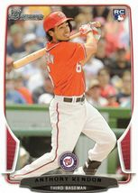 2013 Anthony Rendon #5 Rookie Bowman Baseball card - $1.99