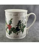Portmeirion Holly and Ivy Coffee Mug FREE SHIPPING - $25.50