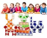 R snake kids educational toys puzzles magic cubes segment diy cube puzzle creative thumb155 crop