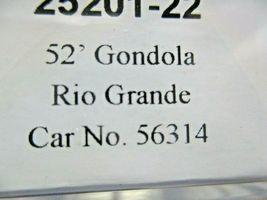 Trainworx Stock # 25201-23 to -24  Rio Grande Orange Paint Scheme 52' Gondola (N image 7