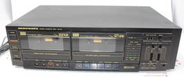 Vintage Marantz Stereo Cassette Deck SD-160 Dual Deck Black - $53.28