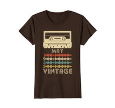 Funny Shirts - Vintage Retro Made In May 1943 75th Birthday Gift 75 yrs old Wowe image 5