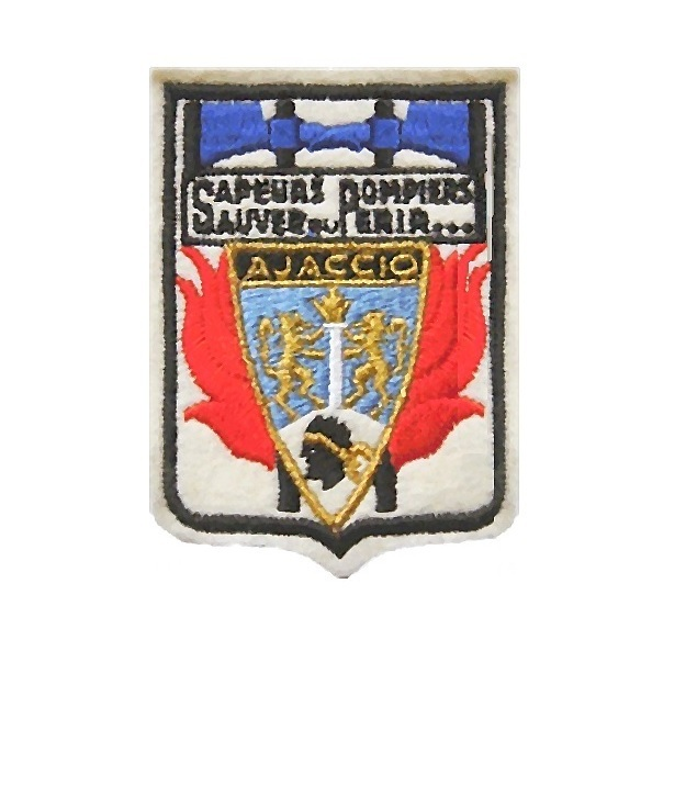 sapeurs pompiers ajaccio sdis 2a corse du sud french fire department corsica 3.5 x 2.5 in 10.99