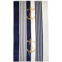 Northpoint Newport Oversized Double Jacquard Plush Velour Beach Towel 40... - $26.82