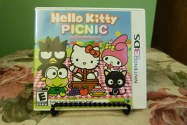 Hello Kitty Picnic With Sanrio Friends (Nintendo 3DS, 2012) Near Mint W/... - $9.89