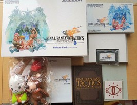 Nintendo Game Boy Advance FF Tactics Deluxe Pack Limited Edition From Ja... - $108.89