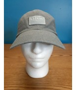 UNDER ARMOUR Gray Adjustable Strapback Hat/Cap One Size - $14.80
