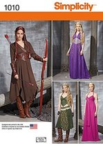 Simplicity Creative Patterns US1010H5 Misses Fantasy Costumes, Size H5 (... - $13.23