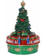 Mr. Christmas ANIMATED MUSICAL TREE Mini Carnival Christmas Tree Ornament OpnBx - £28.99 GBP