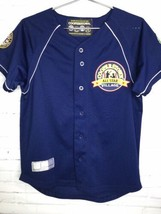 Cooperstown All Star Village Youth XL MLB Blue Jersey Red Sox Green Mons... - $18.55