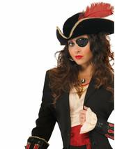 Forum Nouveautés Sequin Pirate Bandeau Oeil Femmes Halloween Accessoire Costume - $8.01