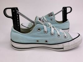 Converse All Star Low Top Chuck Taylors Women's Mint Green Shoes Size 6 image 5