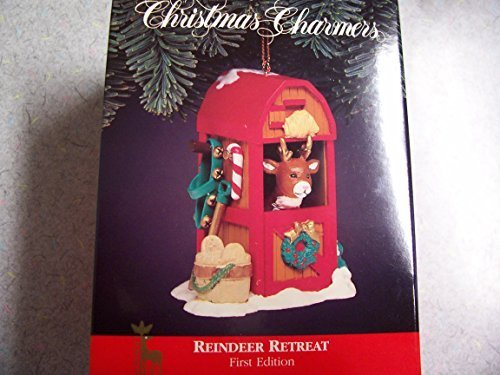 Christmas Charmers Reindeer Retreat Ornament First Edition 1992