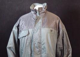 XL Women's Winter Nylon Jacket by Nautical Dark Green & Black - $7.11